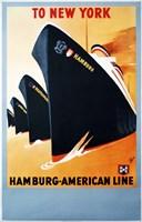 Hamburg American Line Fine Art Print