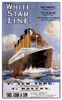 White Star Line Fine Art Print