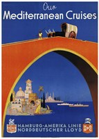 Mediterranean Cruises Fine Art Print