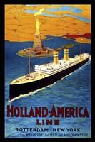 Holland America Line Fine Art Print