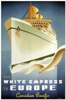 White Empress Fine Art Print