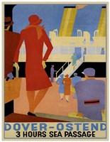Dover Ostend Fine Art Print