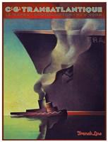 Trans Atlantique Fine Art Print