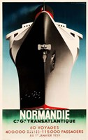 Normandie Fine Art Print