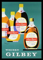 Gilbey Whisky Fine Art Print