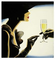 Champagne Fine Art Print
