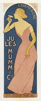 Champagne Ju Les Mumm Fine Art Print