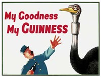 My Goodness My Guinness Fine Art Print