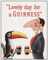 Lovely Day for a Guinness Fine Art Print