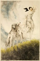 Deco Dogs Fine Art Print