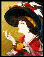 De Feure Smoking Woman IV Fine Art Print