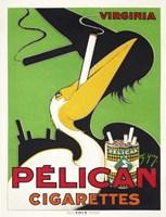 Pelican Cigarettes Framed Print