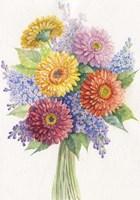 Bunch of Flowers Fine Art Print