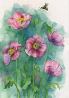 Pink Blooms Fine Art Print