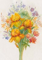 Orange Flowers Fine Art Print