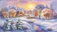 Frosty Morning Fine Art Print