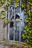 Broken Window Fine Art Print