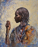 Tribal Colors Fine Art Print