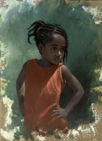 Girl Attitude Fine Art Print