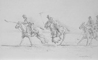 Polo Sketch Fine Art Print