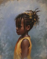 Yellow Girl Fine Art Print