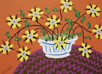 Yellow by Design - Orange Fine Art Print