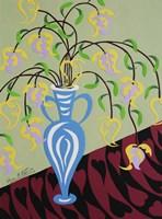 Delicate by Design - Blue Vase Fine Art Print