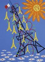 Eiffels Fine Art Print
