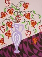 Delicate by Design - Pink Vase Fine Art Print