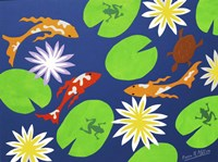 Koi Pond Fine Art Print