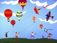 Go Fly a Kite Fine Art Print