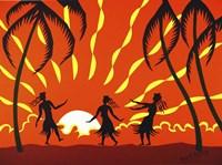 Tropical Night Fine Art Print