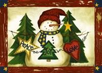 Peace, Joy, Love Fine Art Print