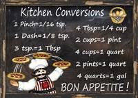 Kitchen Conversions 2 Fine Art Print