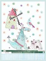 Dragon & Wild Boar Fine Art Print