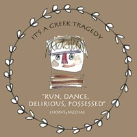 Greek Tragedy D Fine Art Print
