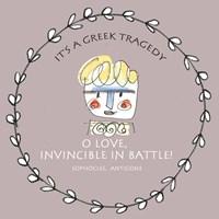 Greek Tragedy E Fine Art Print