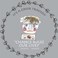 Greek Tragedy F Fine Art Print