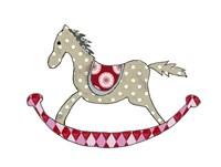Rocking Horse Fine Art Print