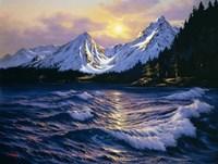 Snowy Peaks Fine Art Print