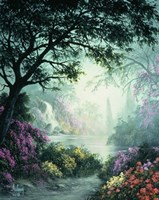 Emerald Glow Fine Art Print