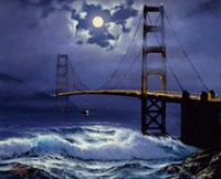 Bridge at Night Fine Art Print