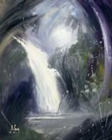 Abstract Waterfall Fine Art Print