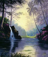 Tranquil Lake Fine Art Print