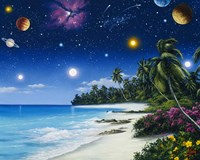 Celestial Shores Fine Art Print