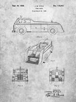 Fire Truck Patent Fine Art Print