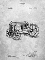 Tractor Patent Fine Art Print