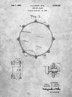 Drum Key Holder Patent Fine Art Print