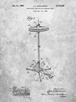 Anti-Slide Lock for an Actuator Pedal Patent Fine Art Print