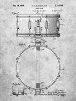 Snare Drum Patent Fine Art Print